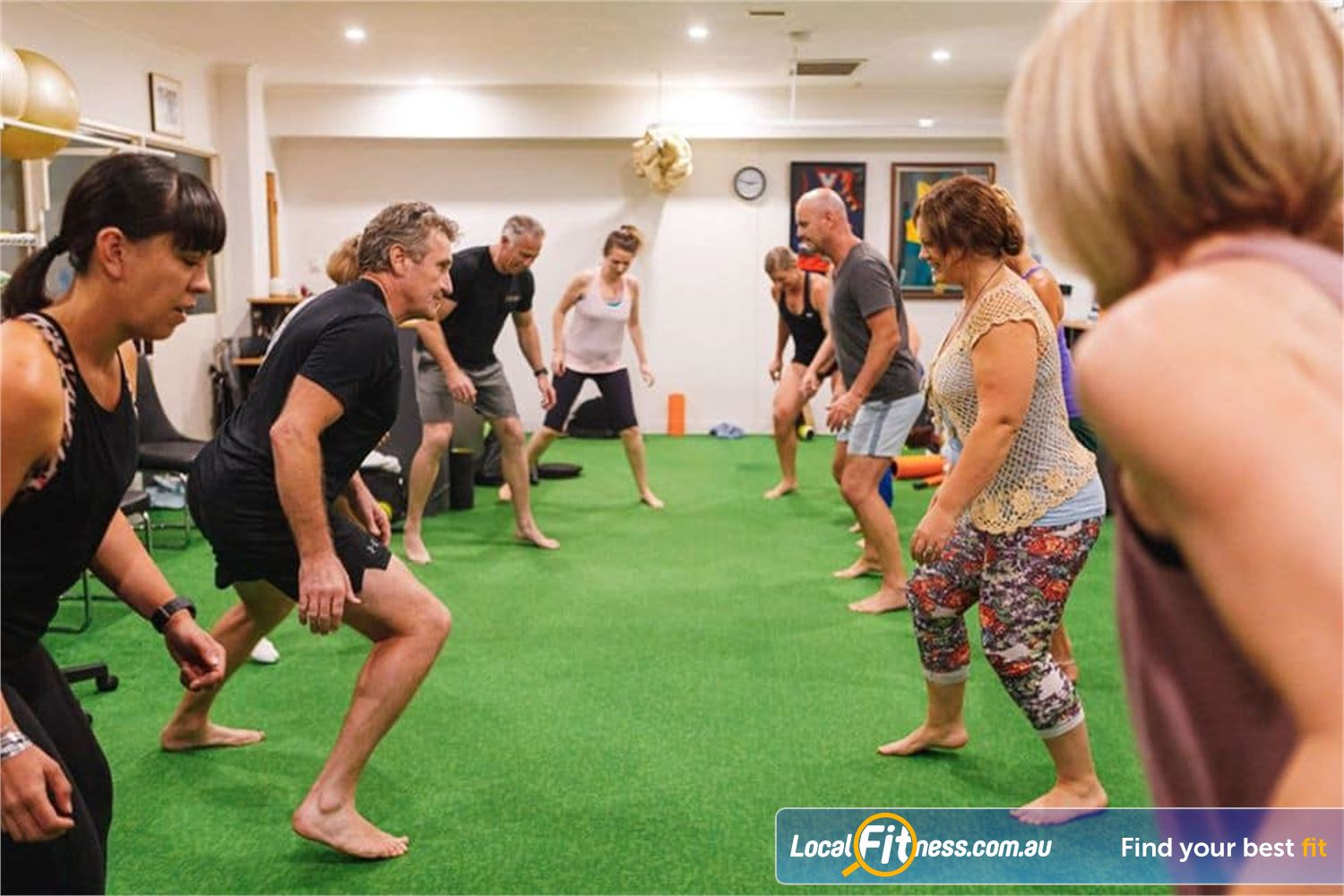 Long Live You Near Windsor Our Prahran group fitness classes focus on optimal movement.