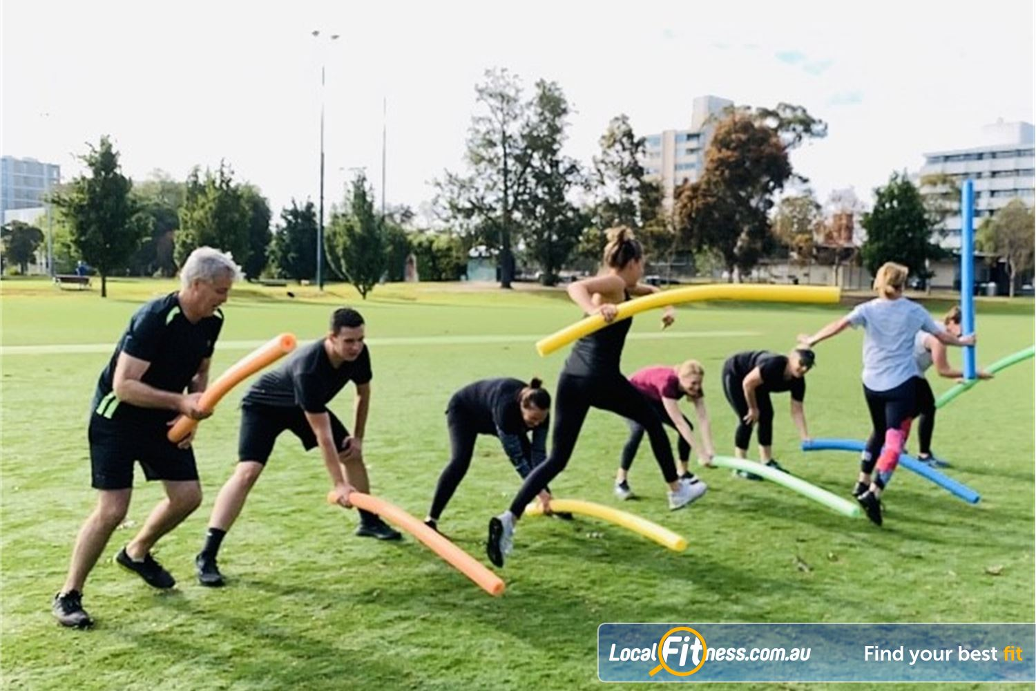 Long Live You Prahran Our Prahran outdoor fitness classes including HIIT and Resistance training.