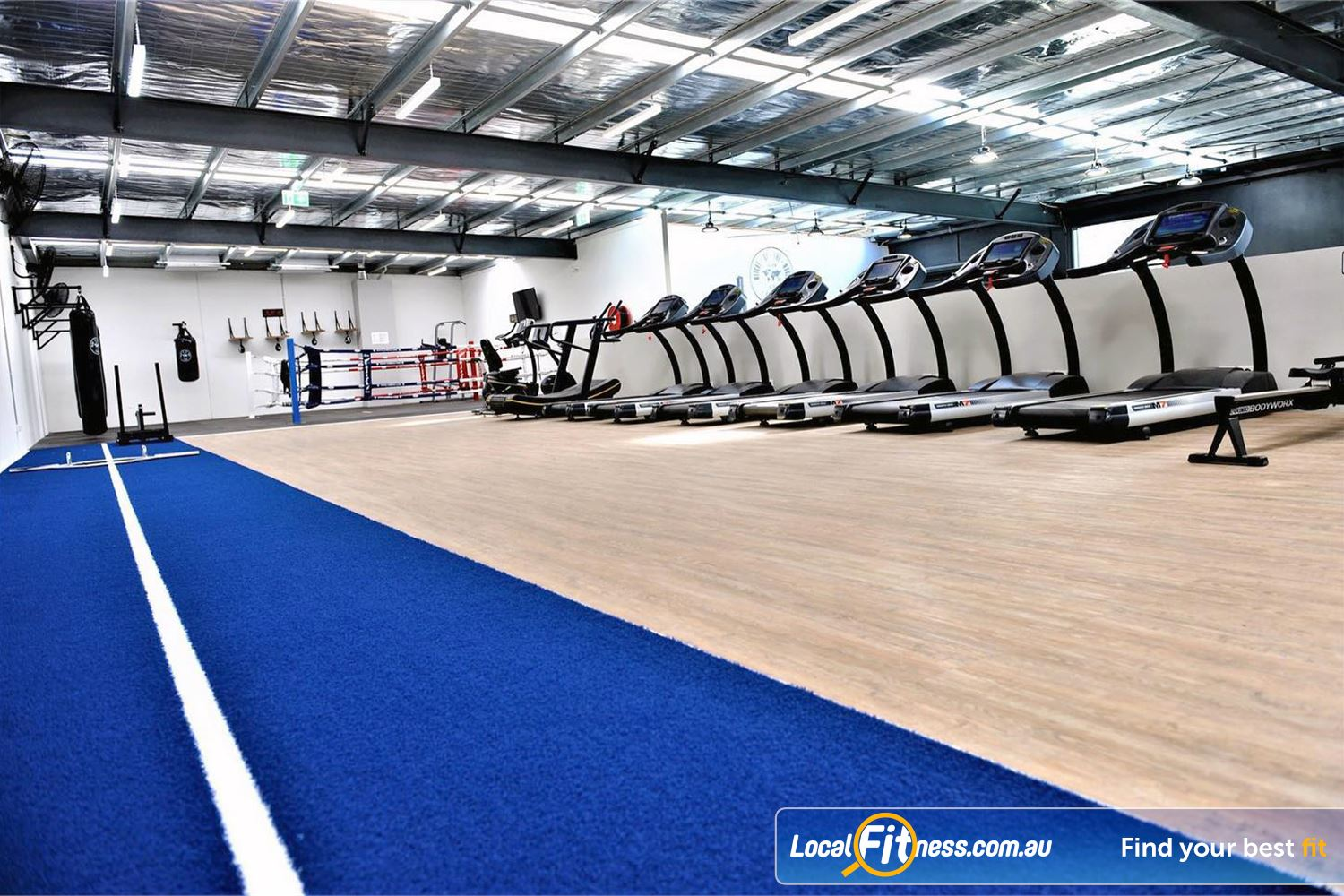 Weight of the World Fitness Altona North Functional training, boxing training, cardio training all under one roof.