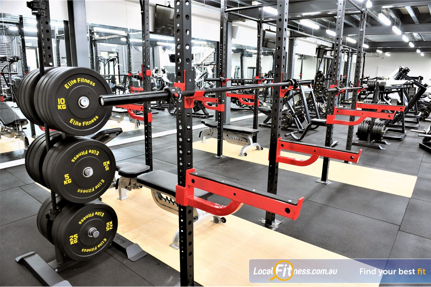 Weight of the World Fitness Near Altona Meadows A High performance strength matrix help you increase your strength.