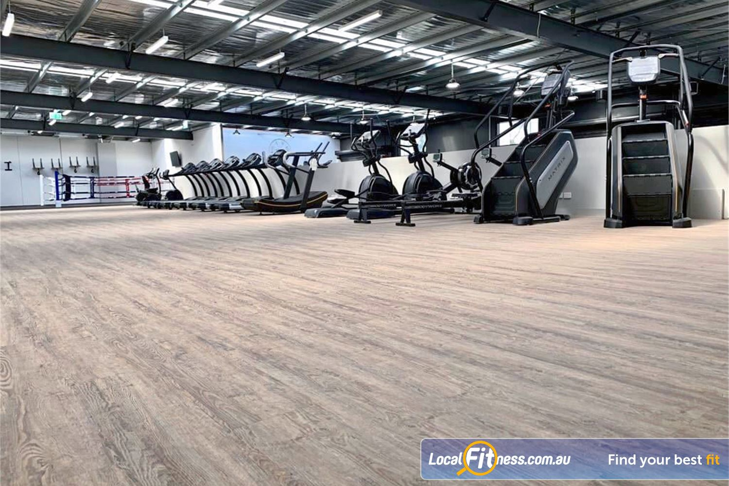 Weight of the World Fitness Altona North Our 24/7 Alton gym includes a state of the art cardio space.