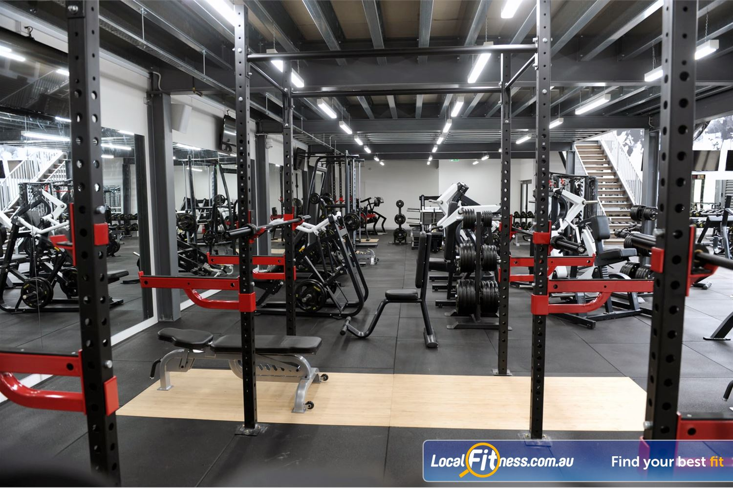 Weight of the World Fitness Near Brooklyn Our Altona gym provides over 700 sq/m of gym space.