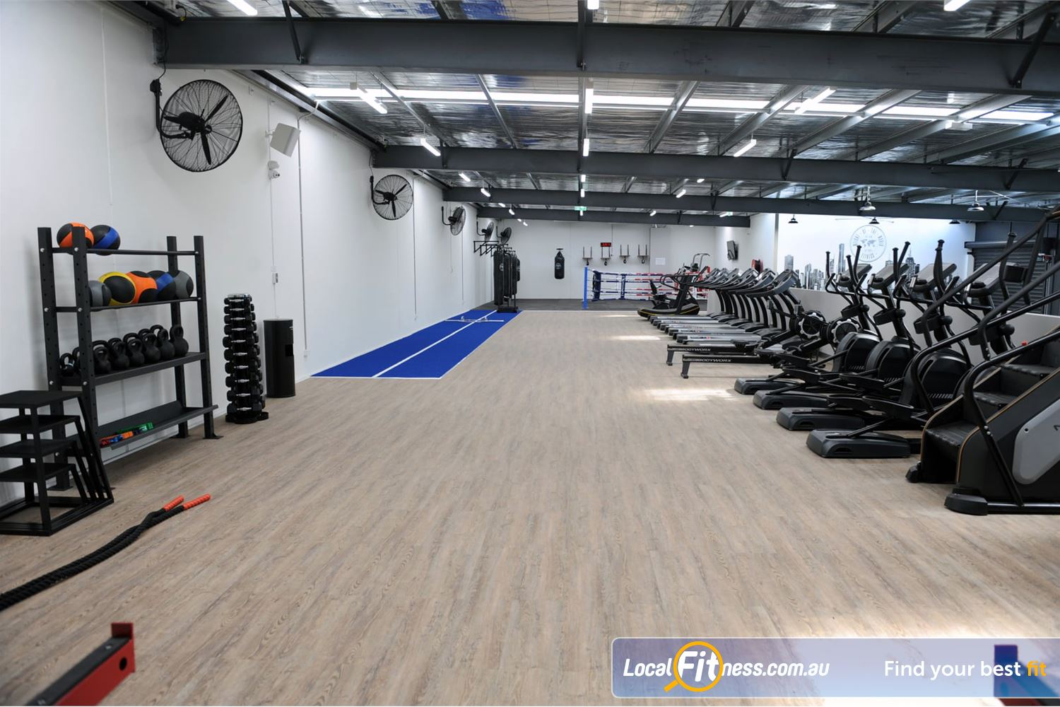 Weight of the World Fitness Near Laverton North The dedicated functional training and Altona HIIT gym space.
