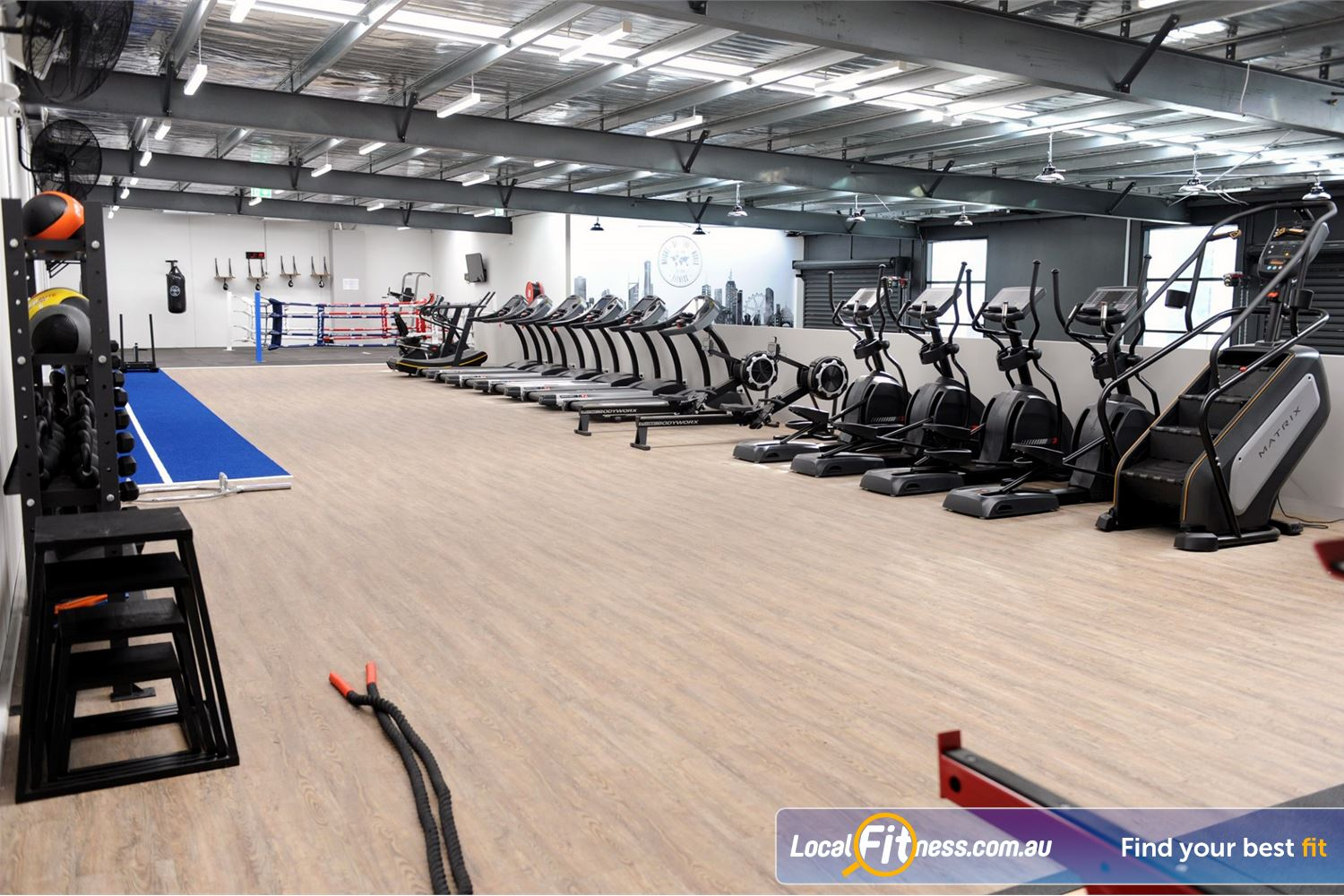 Weight of the World Fitness Near Brooklyn Treadmills, cross trainers, stair climbers, rowers, skillmill and more.