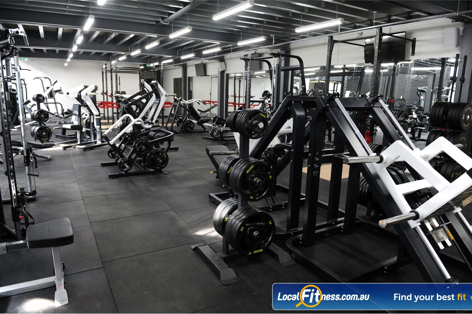 Weight of the World Fitness Near Laverton North Our 24/7 Altona gym includes over 80 peices of state of the art equipment.