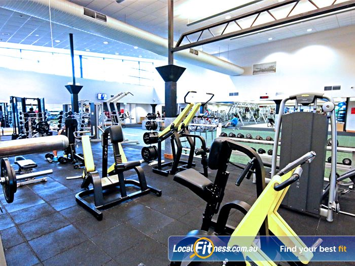 Fitness First Gym Wynnum  | Our Carindale gym is fully equipped for strength