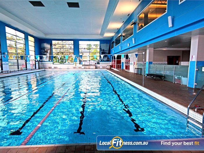 Fitness First Gym Wynnum  | Enjoy our indoor Carindale swimming pool perfect for
