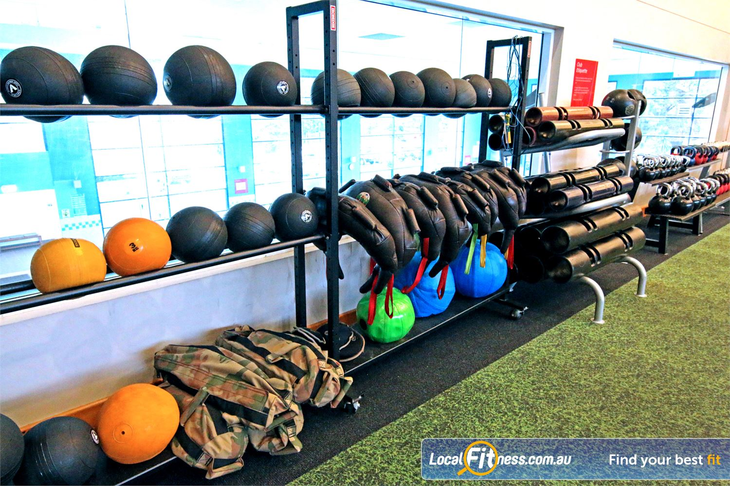 Fitness First Near Mackenzie The latest innovative fitness trends in our functional freestyle area.