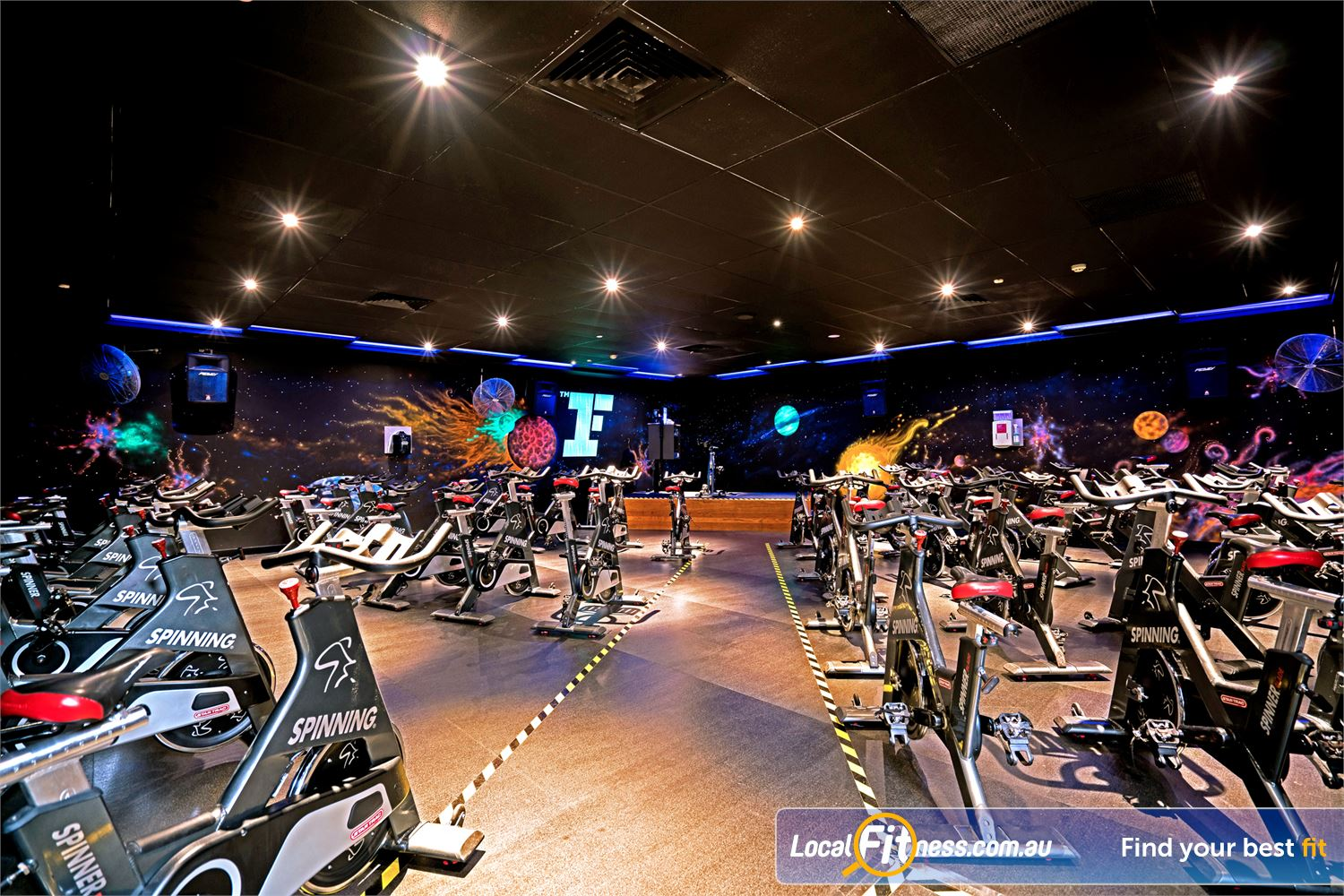 Fitness First Carindale Enjoy our fun and exciting Carindale cycle classes.