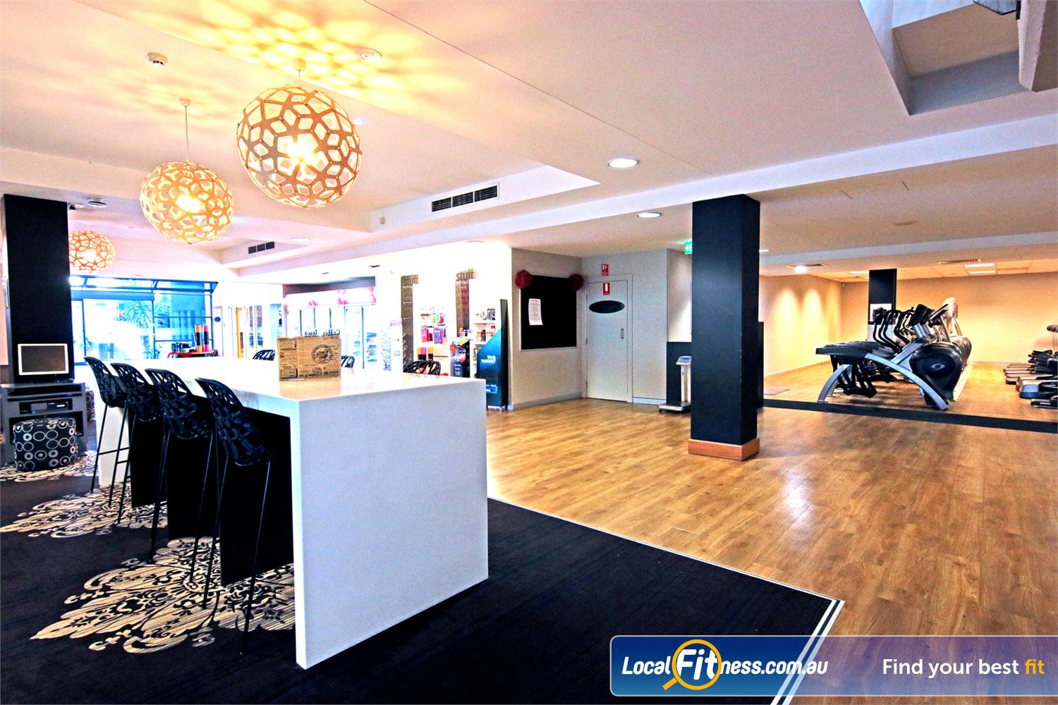 Fitness First Carindale Read the paper or socialise in our members lounge.