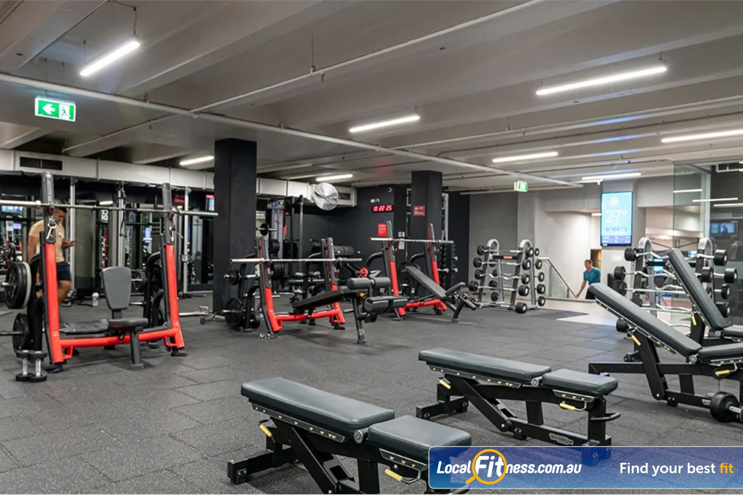 Fitness First Platinum George St. Sydney Welcome to the athletic muti-purpose Fitness First Platinum Sydney gym in George St.