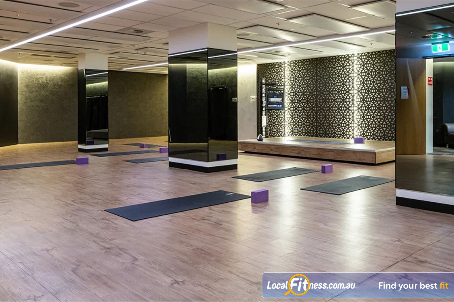Fitness First Platinum George St. Sydney Our dedicated Sydney Hot Yoga studio set to about 35 degrees for our Hot Yoga classes.