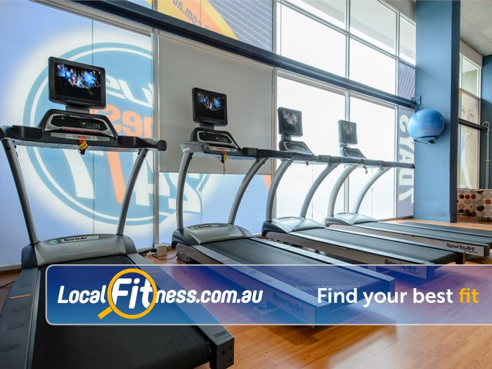 Plus Fitness 24/7 Gym Cherrybrook  | State of the art cardio with personal entertainment