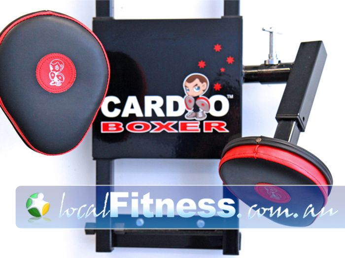New Level Personal Training Near Little River The unique cardio boxer setup at New Level Werribee.