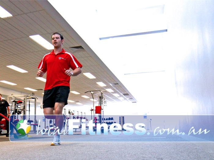 New Level Personal Training Werribee Test your speed in with our running lane.