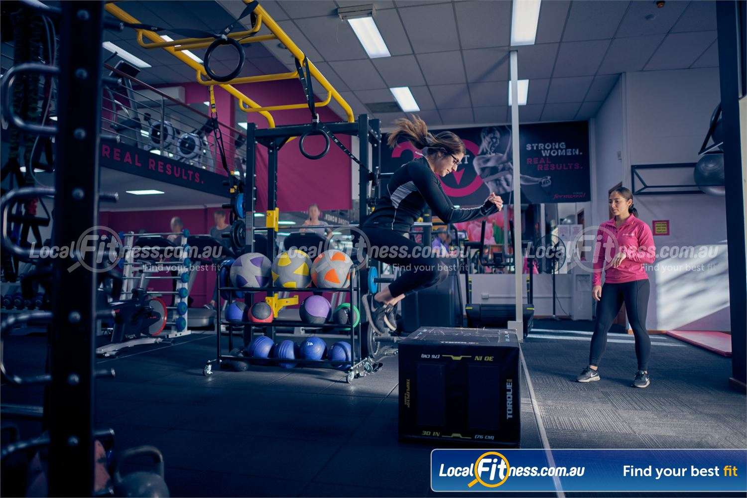 Fernwood Fitness Carlton Our Fernwood Carlton team are ready to cater for all women's needs.