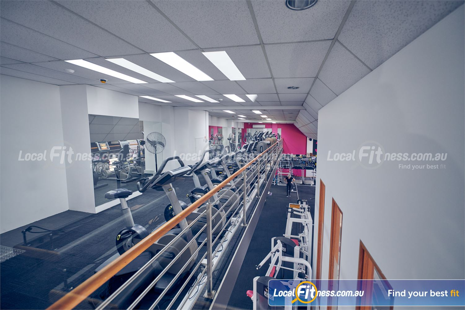 Fernwood Fitness Near Collingwood Rows and rows of cardio machines so you don't have to wait.