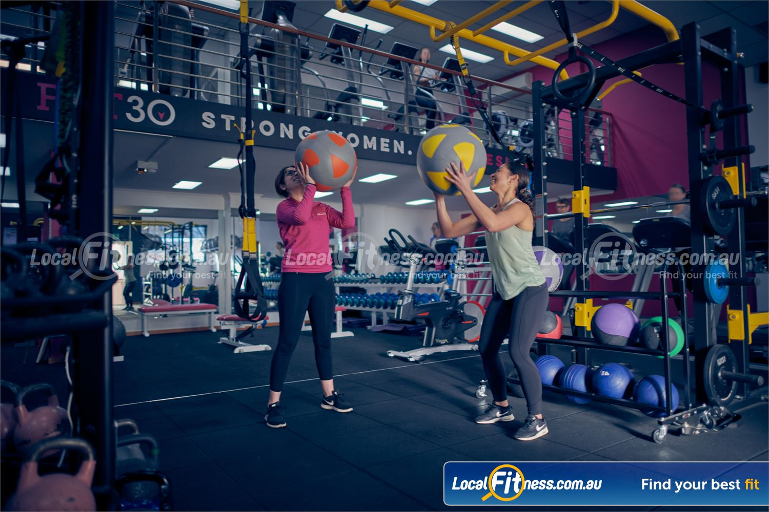 Fernwood Fitness Carlton Get into functional training in our Carlton HIIT gym area.