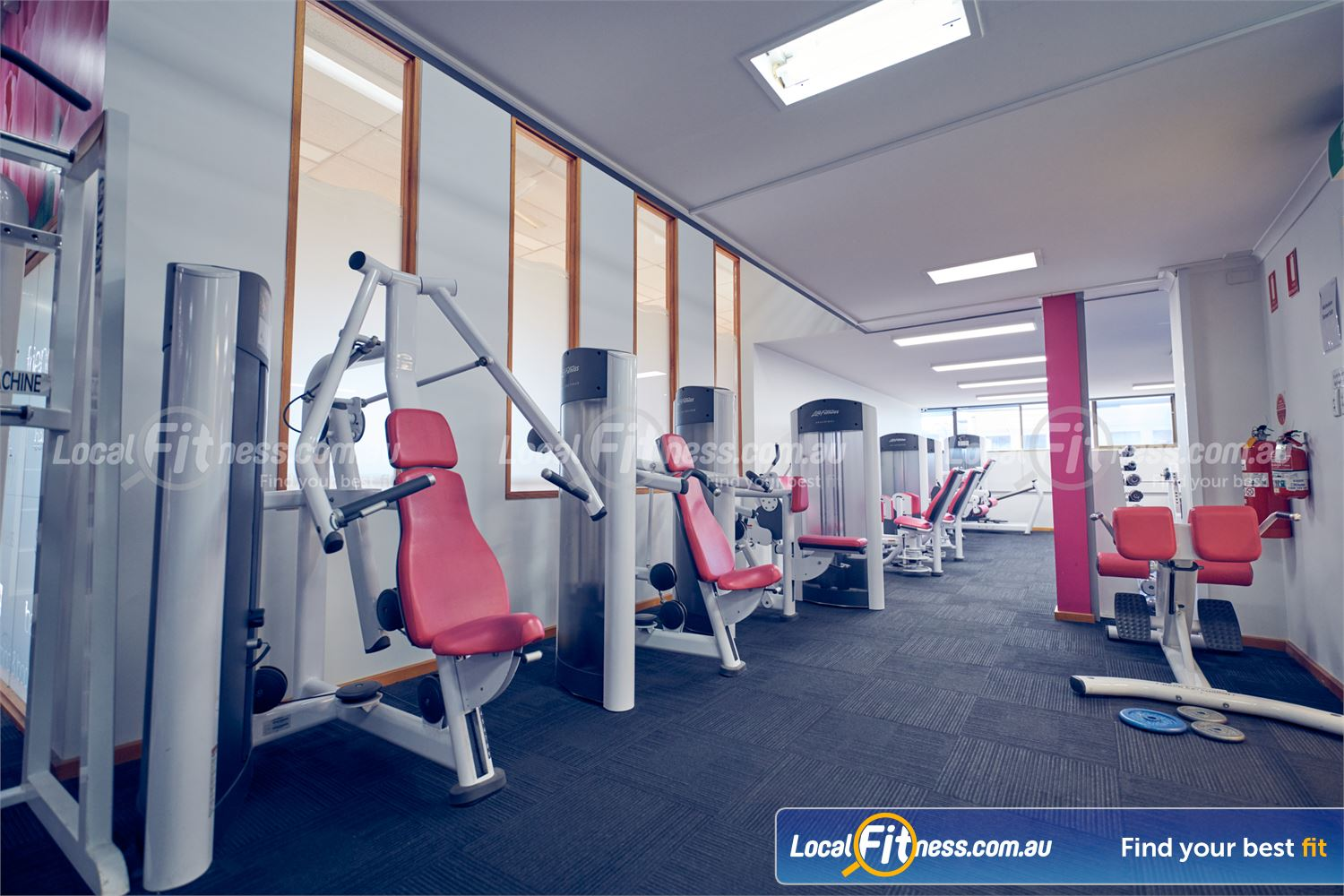 Fernwood Fitness Near Carlton North Our Carlton womens gym provides easy to use pin-loading equipment.