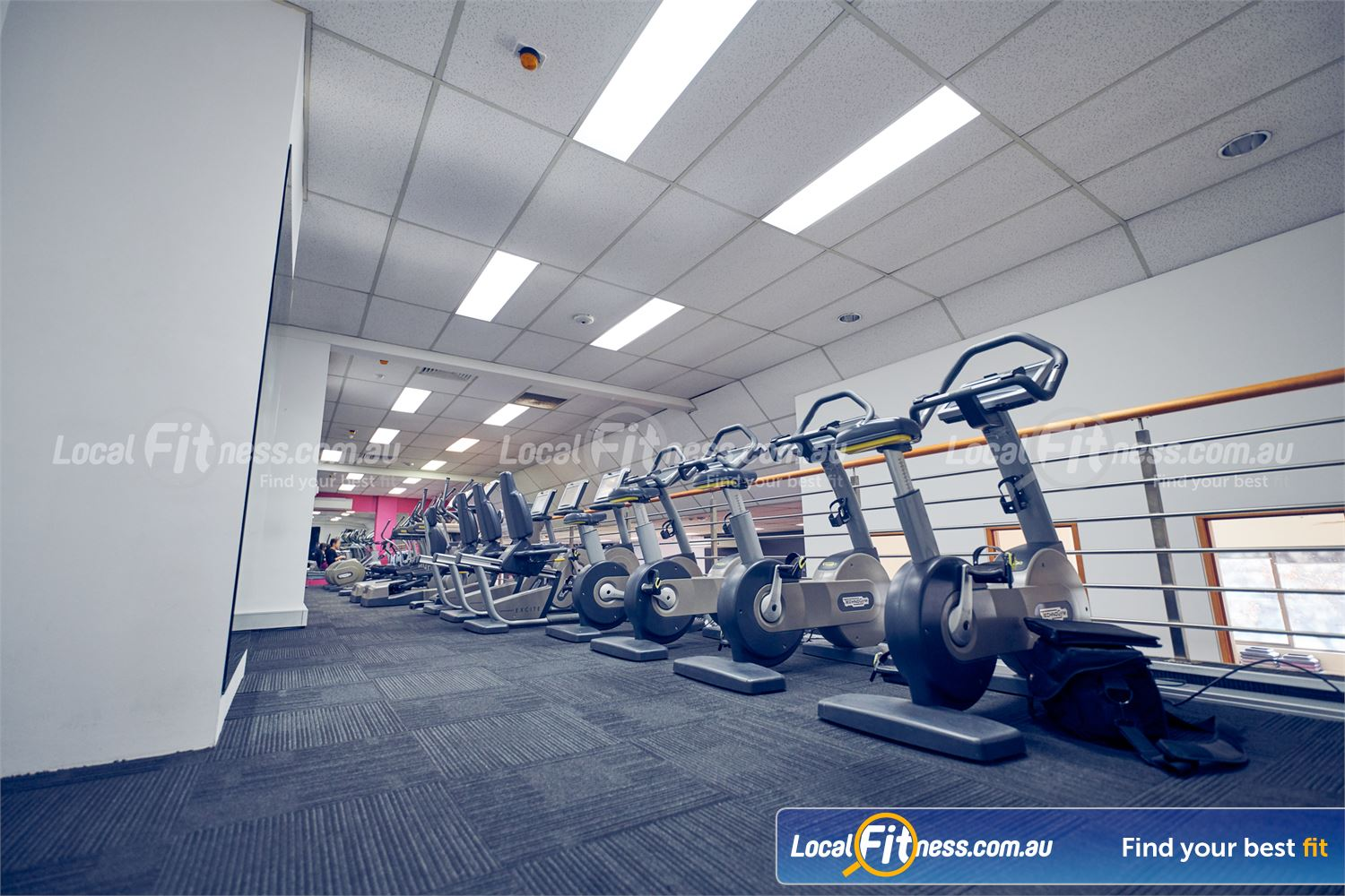 Fernwood Fitness Near Fitzroy State of the art cardio inc. web browsing, TV channels, fitness tracking and more.