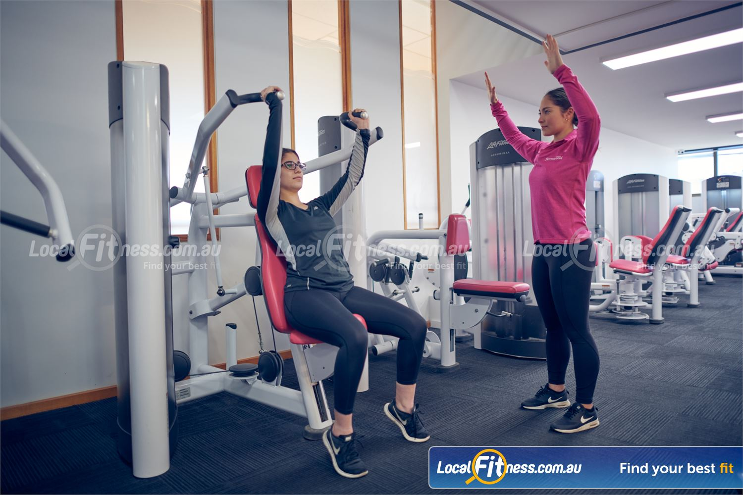 Fernwood Fitness Carlton Our Carlton gym team can tailor a women's strength program to suit you.