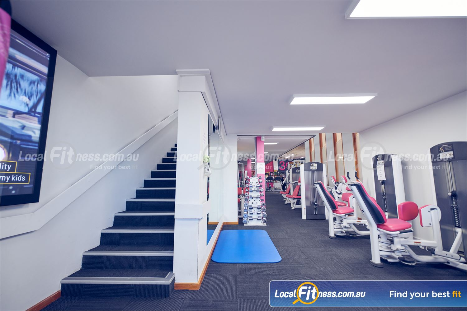 Fernwood Fitness Near Fitzroy Our Carlton gym provides 24/7 women's gym access.