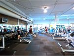 Our spacious free weights gym area in Clayton