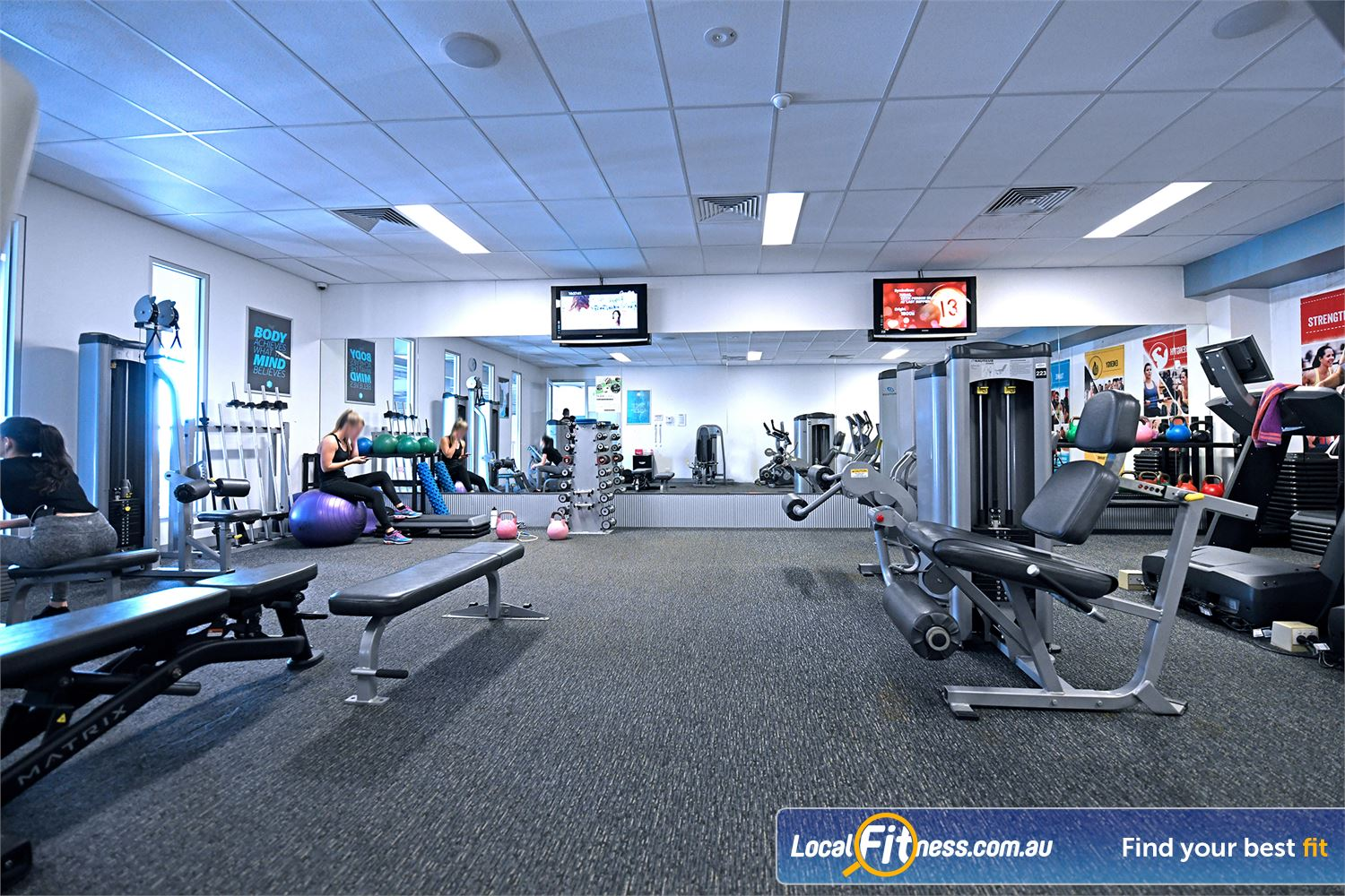 Goodlife Health Clubs Geelong Our Goodlife Club includes a private Geelong womens only gym area.