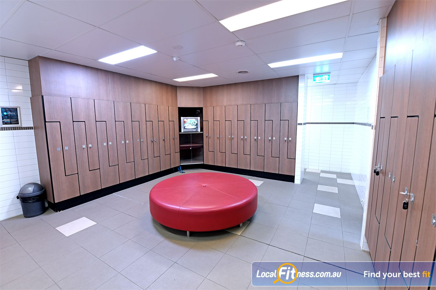 Goodlife Health Clubs Near Moolap Our Geelong gym includes exclusive changeroom with relaxation faciltiies.