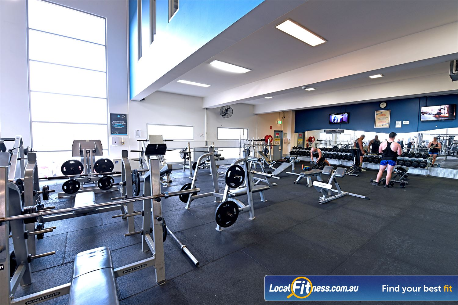 Goodlife Health Clubs Geelong Our Geelong gym includes multiple lifting racks, benches and more.