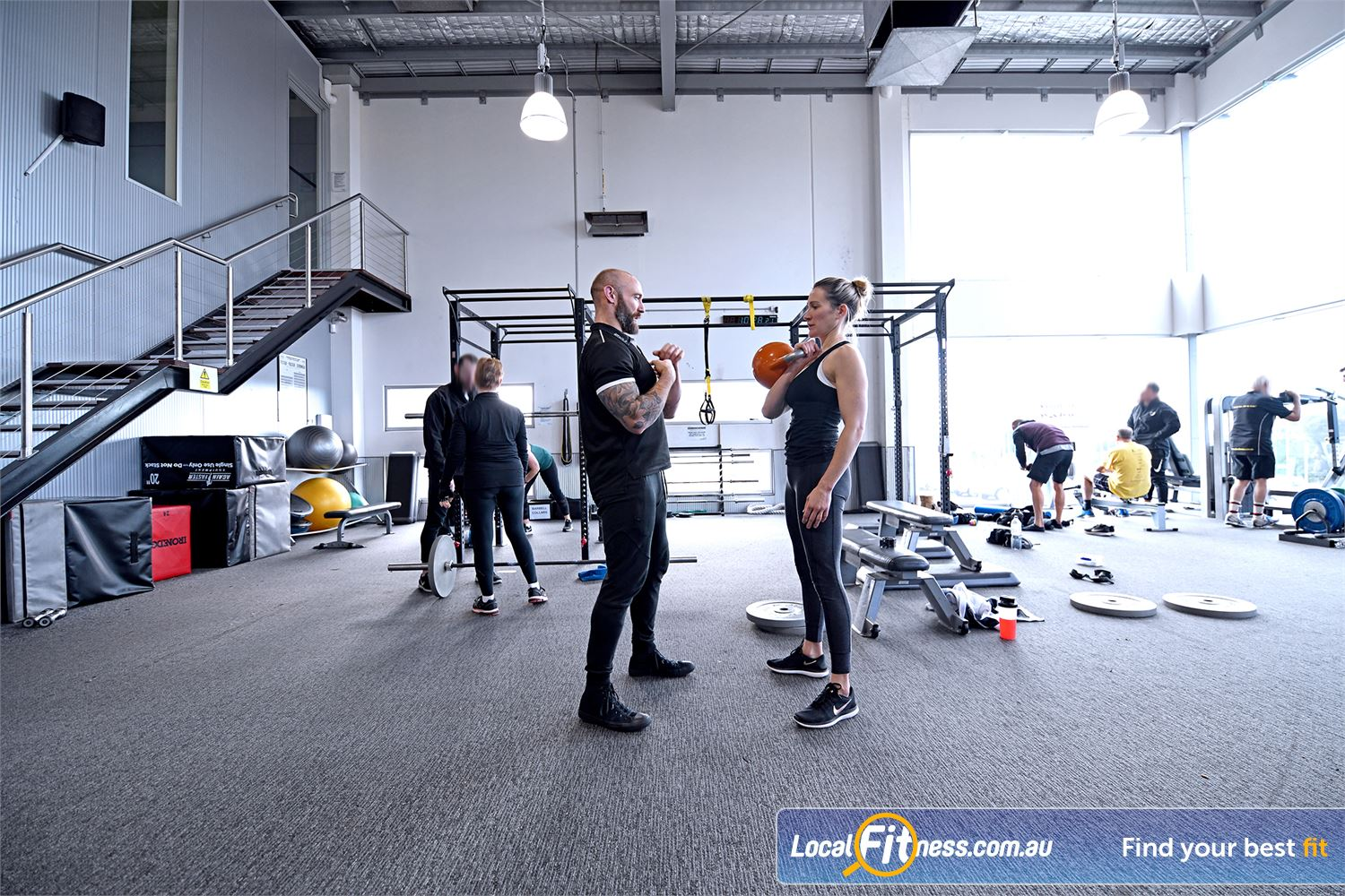 Goodlife Health Clubs Near South Geelong Improve your form and training with guidance from our Geelong personal trainers.