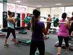Our pump classes will get you into free-weight