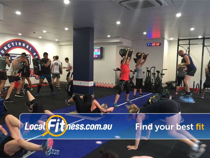 F45 Newtown Erskineville Circuits in action at F45 Newtown!