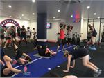 F45 Newtown Erskineville Gym Fitness Circuits in action at F45