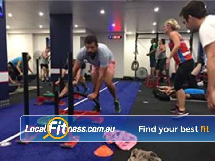 F45 Newtown Near St Peters Prowler Sleds and circuit work - all at F45 Newtown!