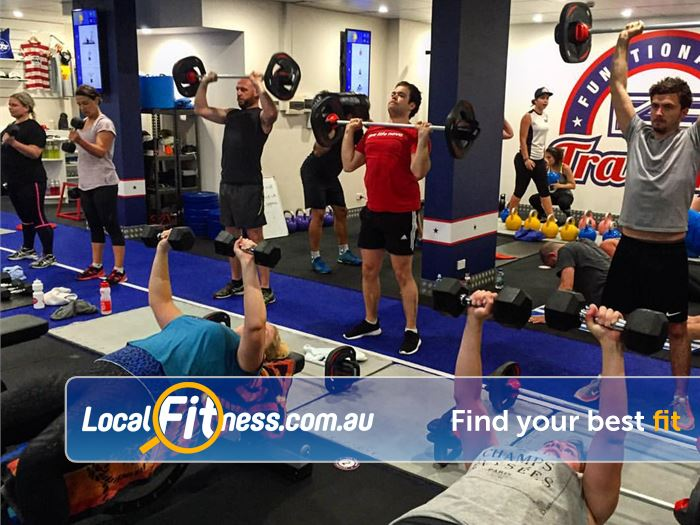 F45 Newtown Erskineville Weight training at F45 Newtown!