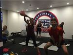 F45 Newtown St Peters Gym Fitness Kettlebell lifts for days!