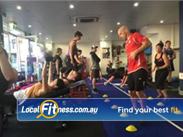 F45 Newtown Erskineville Push yourself to the limit with our High Intensity Interval Training!