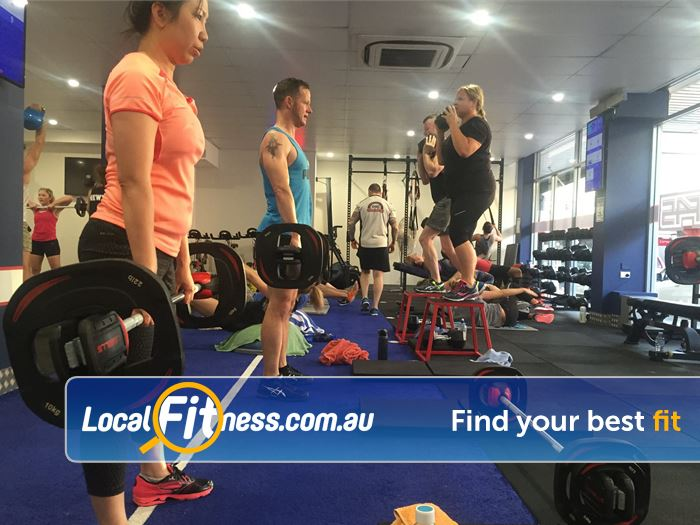 F45 Newtown Near Camperdown Team training and a friendly Newtown fitness environment!