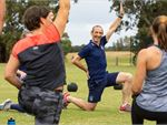 Step into Life Fitzroy North Outdoor Fitness Outdoor Stretch and work on flexibility