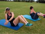 Step into Life Brunswick Outdoor Fitness Outdoor Work your core with Carlton