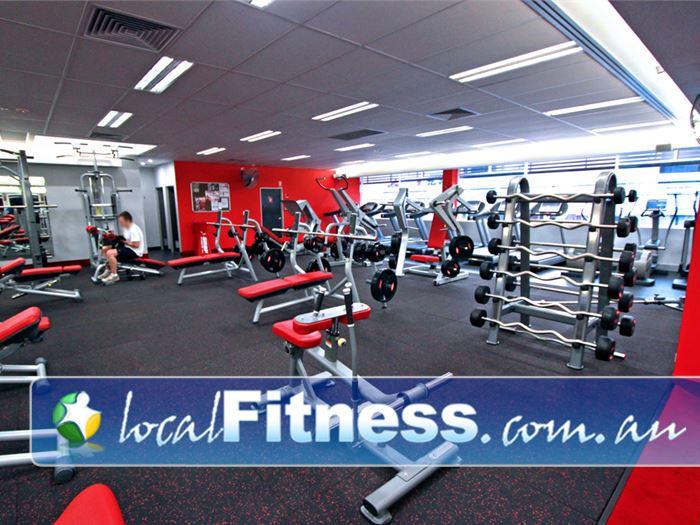 Snap Fitness Gym Thuringowa Central  | Strength training with a fully equipped free-weights area.