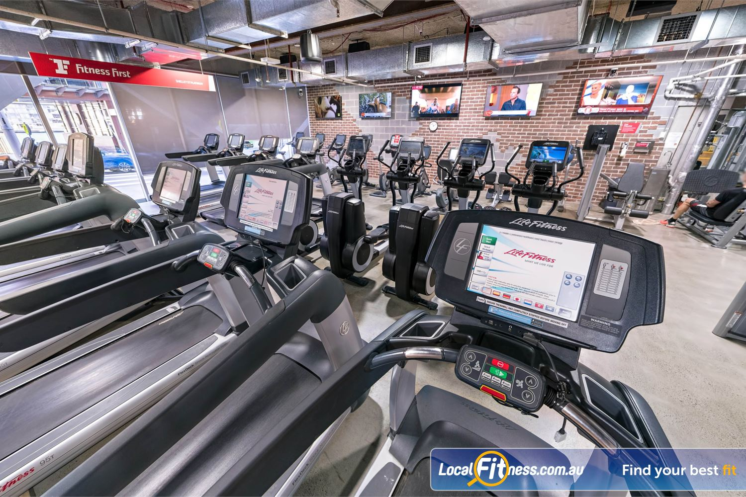 Fitness First Platinum Shelley St Sydney Welcome to the innovative Fitness First 24/7 Sydney gym at Shelley St.