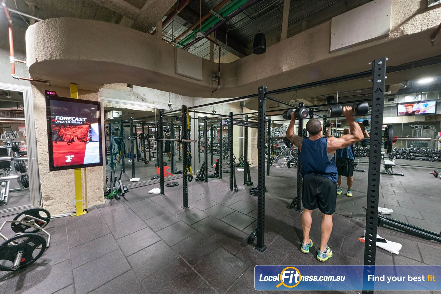Fitness First Platinum Shelley St Sydney Our Sydney gym includes a high performance strength matrix.