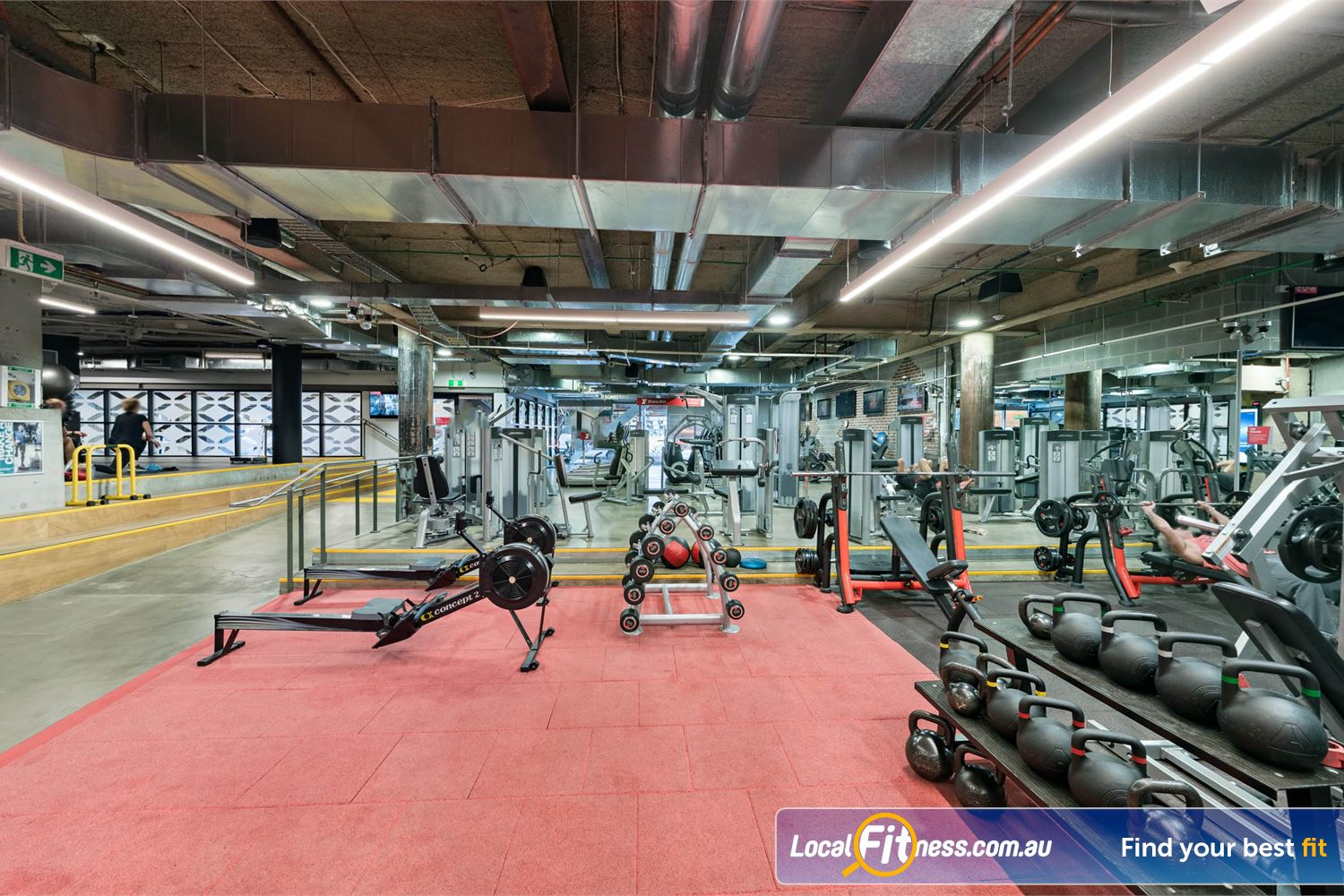 Fitness First Platinum Shelley St Sydney Get functional in our freestyle area with kettlebells, rowers and more.