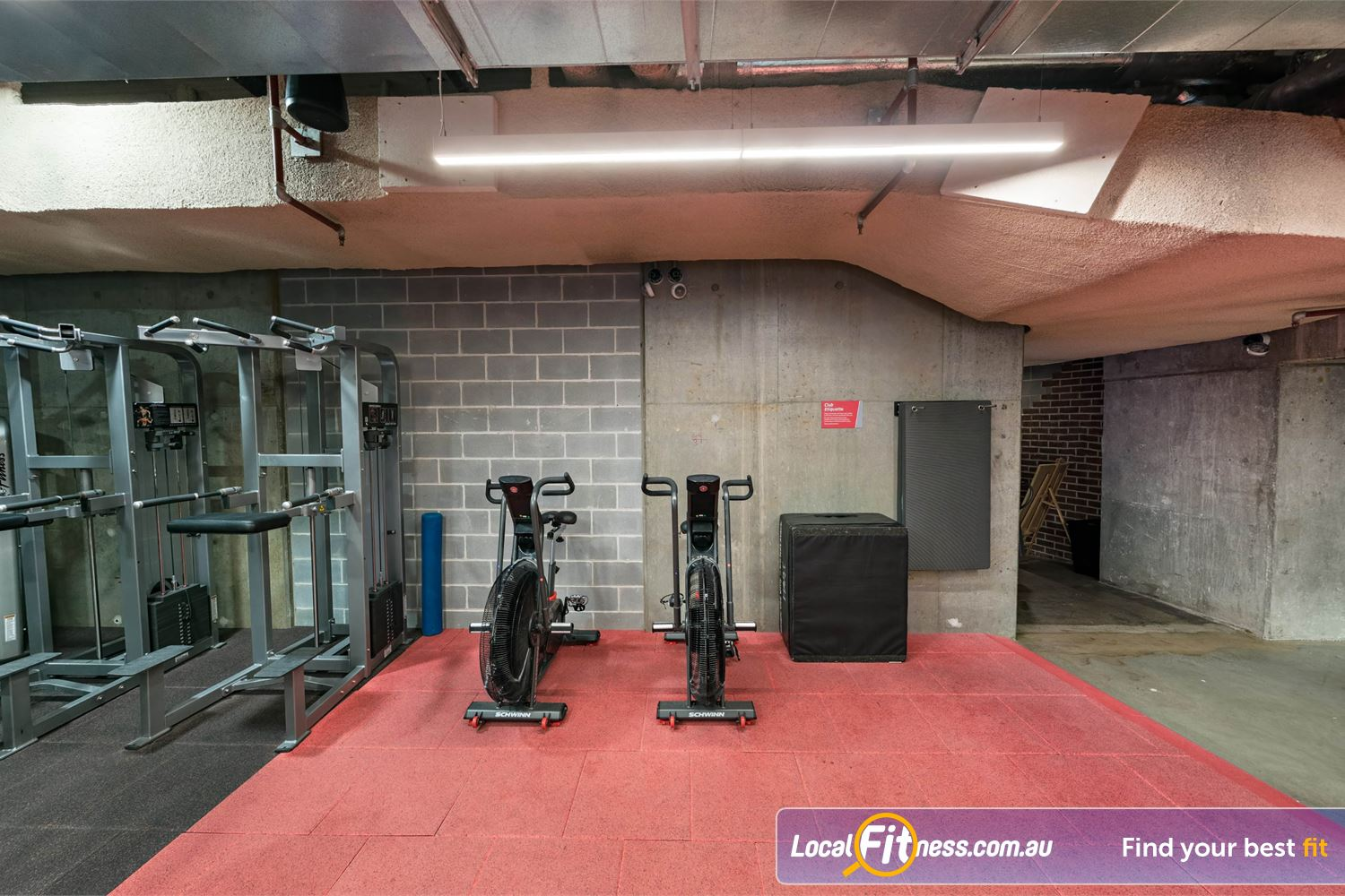 Fitness First Platinum Shelley St Near Alexandria Mc Get functional with our Airdyne bikes.