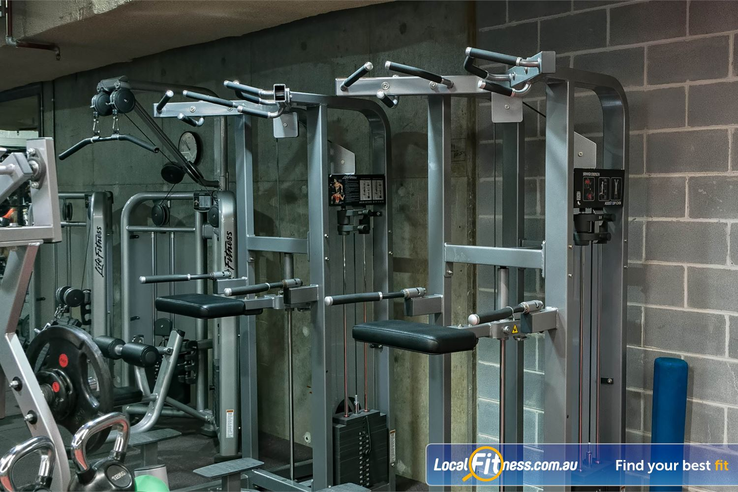 Fitness First Platinum Shelley St Near Alexandria Mc Multiples of the same strength machines so you don't have to wait.