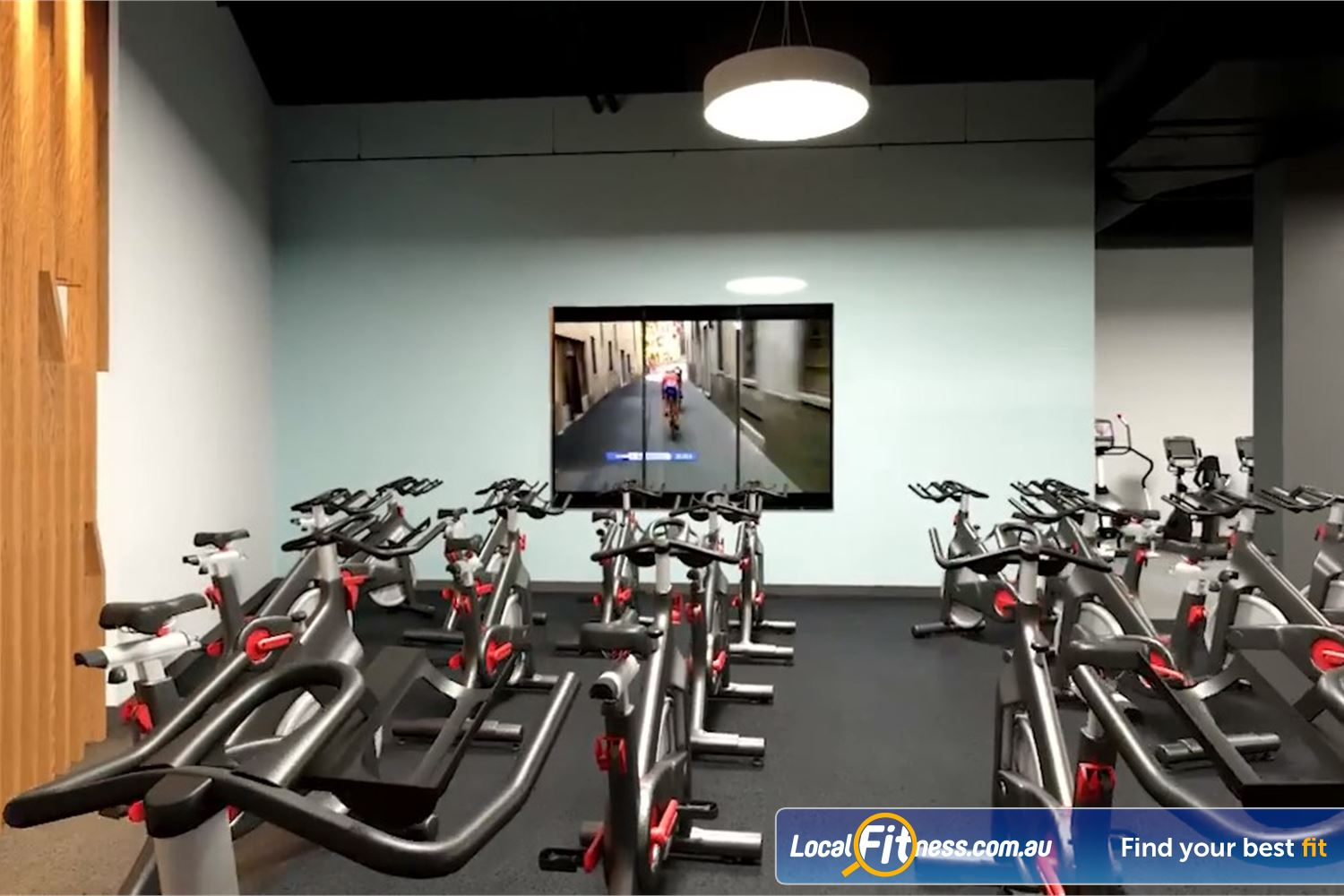 Goodlife Health Clubs Near Ballard Our state of the art Toowoomba spin cycle studio.