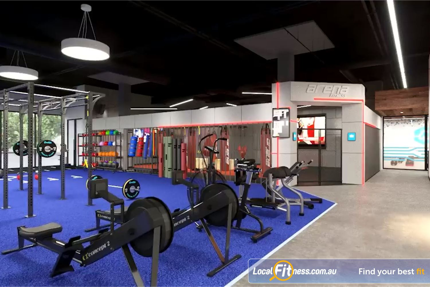 Goodlife Health Clubs Near Wilsonton Get a HIIT cardio workout with our rowers and air assault bikes.