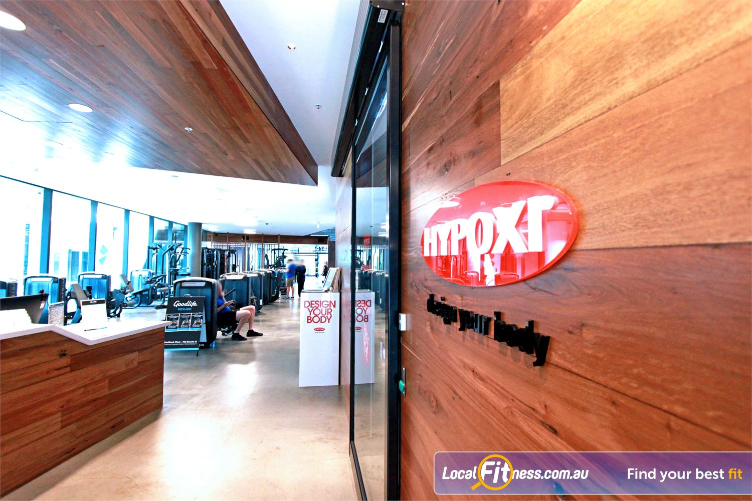 Goodlife Health Clubs Docklands Welcome to Hypoxi studios in Docklands.